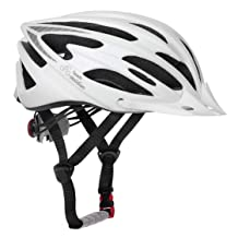 TeamObsidian Airflow Bike Helmet   White/Medium - Large   - for Adult Men & Women and Youth/Teenagers - CPSC Certified Bicycle Helmets for Road