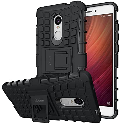 ykooe Funda Xiaomi Redmi Note 4, Teléfono Híbrida de Doble Capa con Soporte Carcasa para Xiaomi Redmi Note 4-5.5