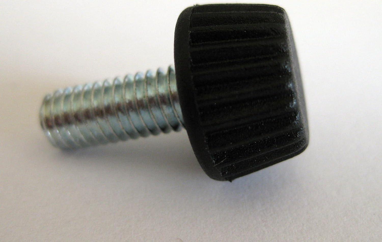 10/x Vis molet/ée Boutons M6/x 15/mm /Écrou Boulon perceuse Scie routeur Audio Camera