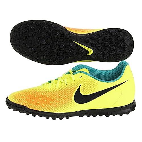 Nike Magistax Ola II TF, Botas de fútbol para Hombre, Amarillo (Volt/