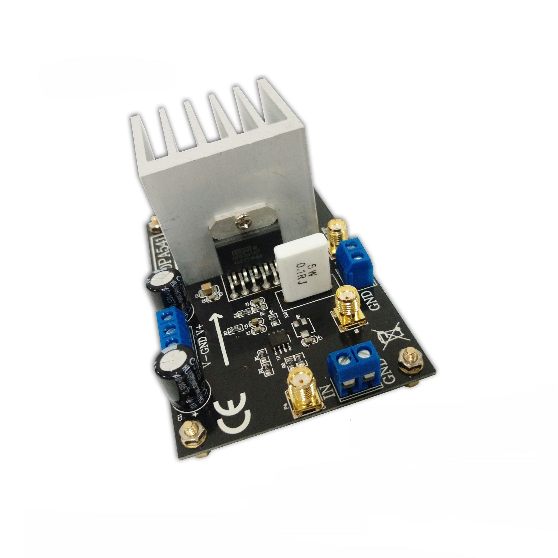 Taidacent OPA541 High Power Monolithic Operational Amplifier 5A Current High Voltage Audio Amplifier sound Amplifier Board