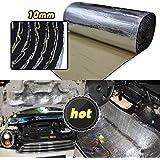 LINGDA 21.53 SqFT 10mm Heat Shield Thermal Sound Insulation Proofing Deadener Mat Car Noise Control Acoustic Dampening…