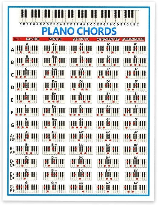 cineman Pegatinas para Teclado de Piano, 88 Teclas para ...