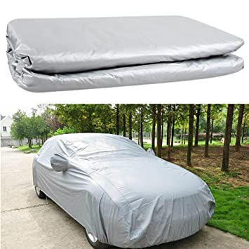 MEDIUM FULL CAR COVER UV PROTECTION WATERPROOF OUTDOOR INDOOR BREATHABLE NEW