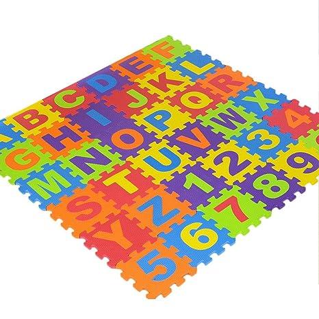 Tapis Puzzle Bebe Tapis Mousse Tapis Epais Bebe 36pcs 15 5 15 5 0 9