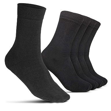 ROYALZ Calcetines de negocios 5 pares para hombres traje ...