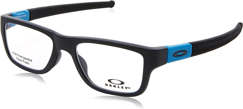 Oakley Marshal (Truebridge) OX8091-0451 Sunglasses Satin Black w/Demo Lens 51mm