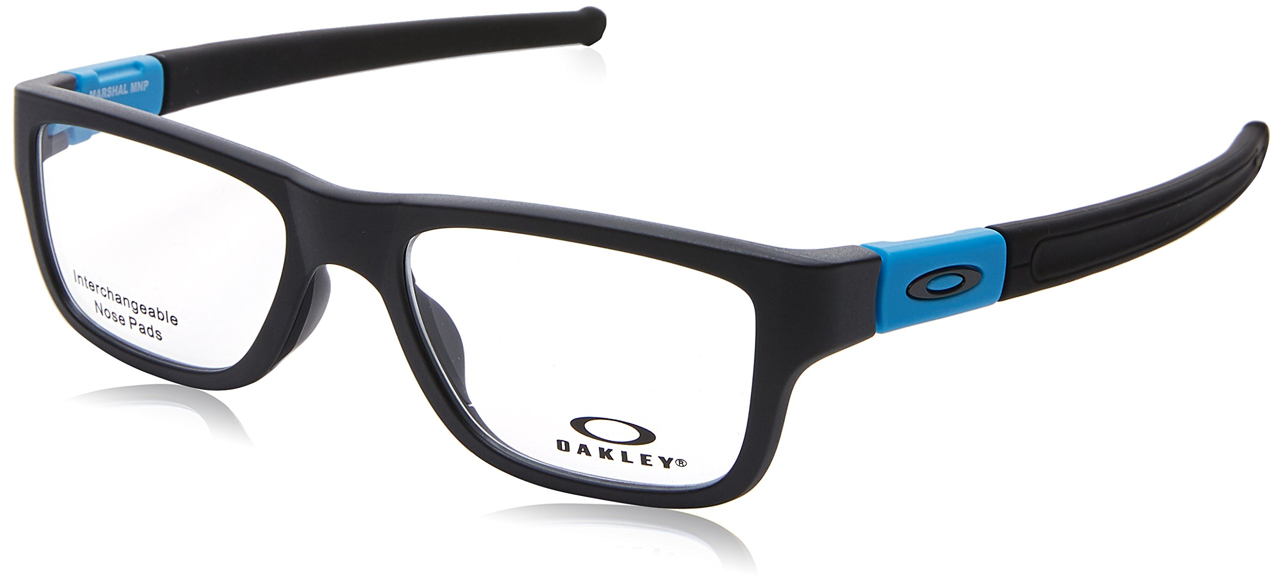Oakley Marshal (Truebridge) OX8091-0451 Sunglasses Satin Black w/Demo Lens 51mm by Oakley