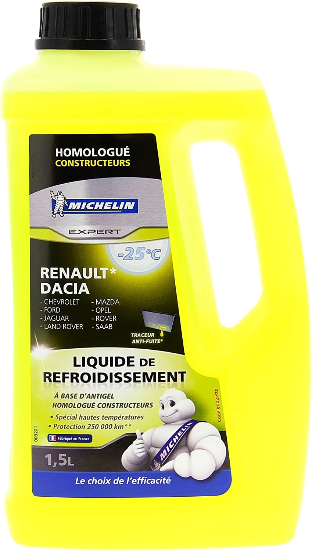 MICHELIN 009221 líquido de refrigeración 1.5L, homologado Renault ...