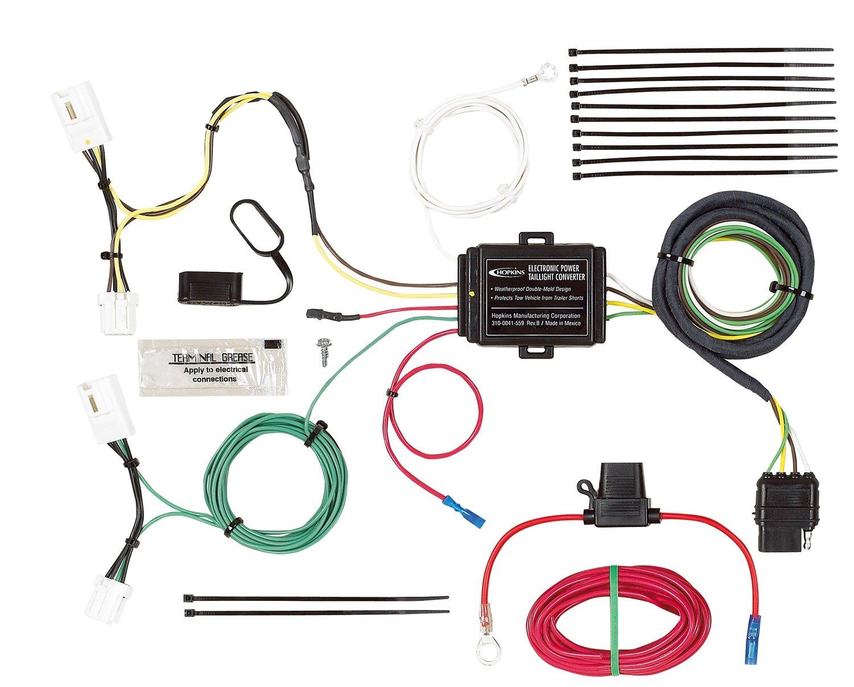 Hopkins Manufacturing Wiring Diagram Services 7 Blade Amazon Com 40804 Plug In Simple Vehicle Kit Automotive Rh Barrett