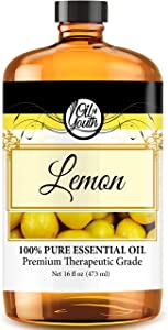 16oz Bulk Lemon Essential Oil – Therapeutic Grade – Pure & Natural Lemon Oil