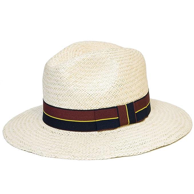buona consistenza vendita calda selezione premium Uomo/Donne/Unisex Pianura Woven Panama Fedora-Trilby Cappello ...