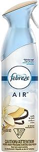 Febreze Air Freshener, Vanilla & Cream (1 Count, 8.8 Oz)