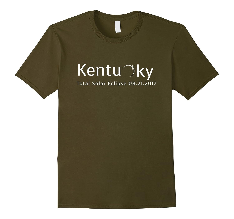 Total Solar Eclipse Over Kentucky 2017 State T-Shirt-BN