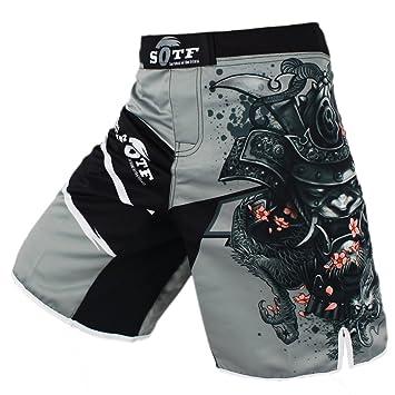 8bda0a79a3d6 sotf Pantalones Cortos Shorts Modelo Samurai Ideales MMA K-1 Kick ...