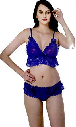 eb17444269ab Fancy Bra Panty Set (Free Size 30 to 36)