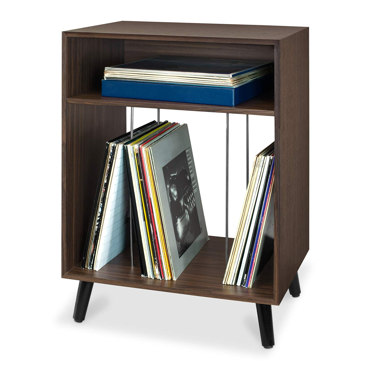Victrola Entertainment Stand with Record Holder, Espresso