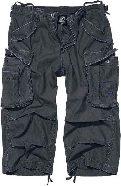 Brandit Industry Men/'s 3//4 Trousers Bermuda Cargo Shorts Three Quarter Pants