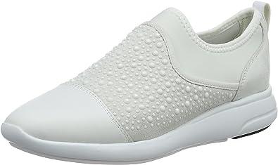 D Ophira B Low-Top Sneakers, Nero