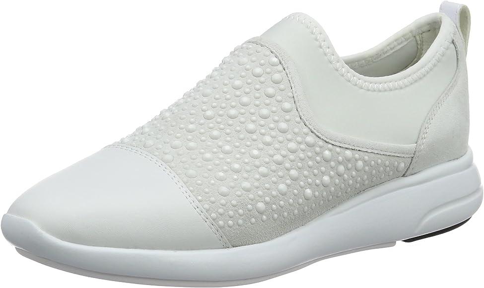 Guardare alla moda GEOX Sneakers Donna Bianco