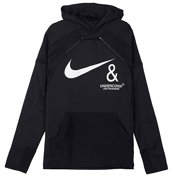 Nike Mens NRG Undercover Hoodie CD7524-010 Size 2XL Black/White