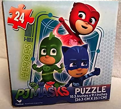 PJ Masks 24 Piece Jigsaw Puzzle (Heroes vs Villains) Kids Boys Hot SELLER in