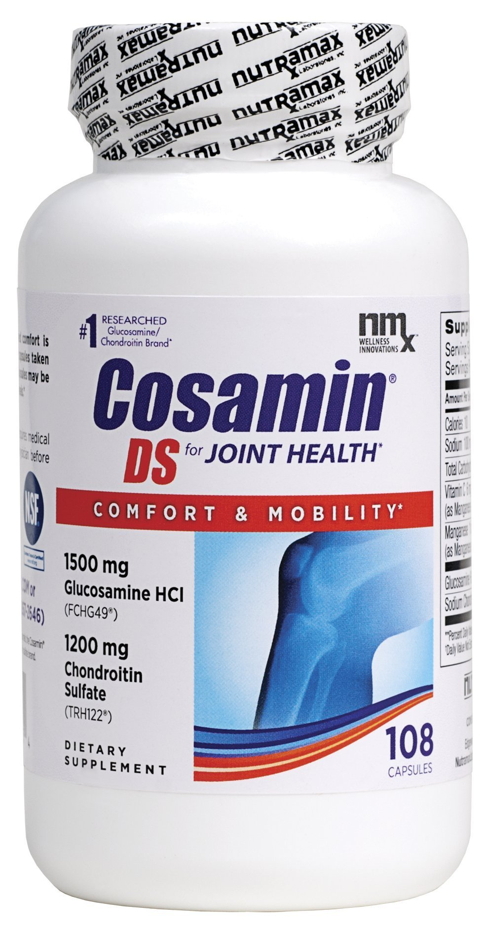 Cosamin DS For Joint Health Comfort & Mobility, 108 Capsules by Cosamin DS