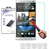 HTC One Max Glass Screen Protector, Nacodex® Premium Real Tempered Glass Film Screen Protector [Guardian Series] 0.33mm 2.5d **New** Ultra Slimpremium Ballistic 99.9% Touch Accurate Perfect Fit Screen Protector Maximum Screen Protection for HTC One Max - ATT Verizon T-mobile, Replacement Glass (HTC One Max)