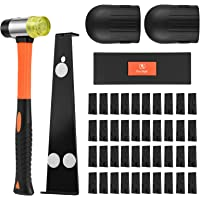 One Sight Upgraded Professional Laminate Wood and Vinyl Flooring Installation Tools Kit with Reinforced Mallet, Upgraded…