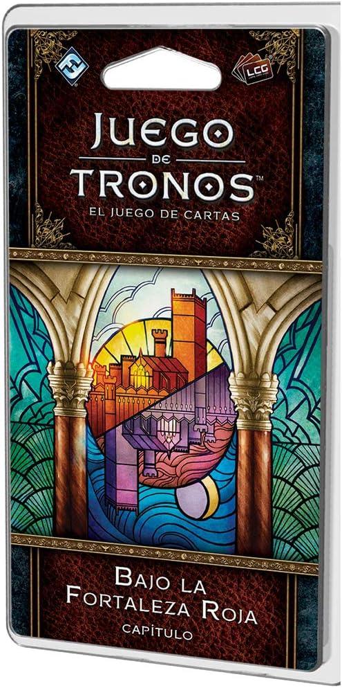 Fantasy Flight Games Tronos: El Juego de Cartas 2ª Edición. Ciclo de Desembarco del Rey. Bajo la Fortaleza Roja (GT49ES)