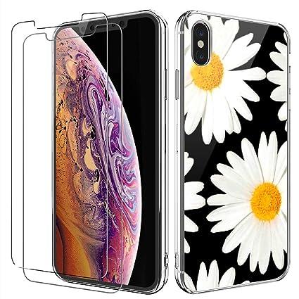 Amazon.com: Carcasa para iPhone Xs Max con protector de ...