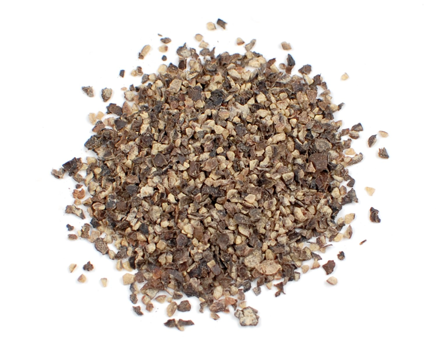 Black Dustless Ground Peppercorns, 50 Lb Bag by Woodland Ingredients