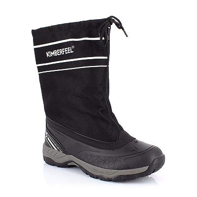 Kimberfeel Skylan Men's Snow Boot, Brown, 44: Sports & Outdoors