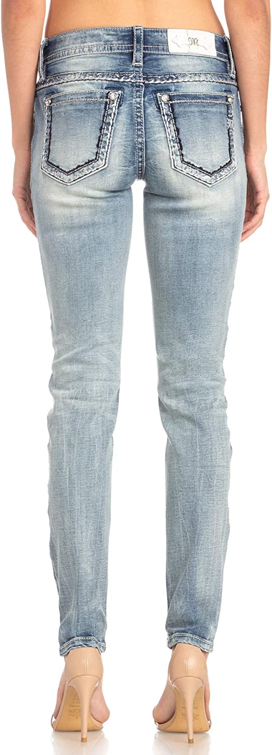 Miss Me Womens Hailey M5012S51 Skinny Jeans