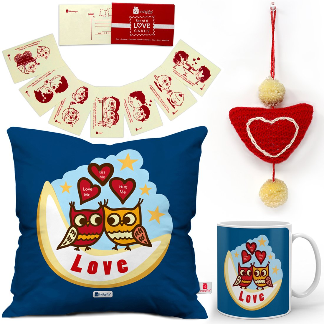 Buy Indi ts Valentine Day Gift Love Me Quote Owls in Love