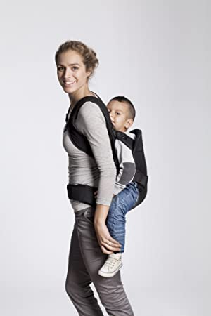 BABYBJORN Baby Carrier One – Black, Cotton Mix