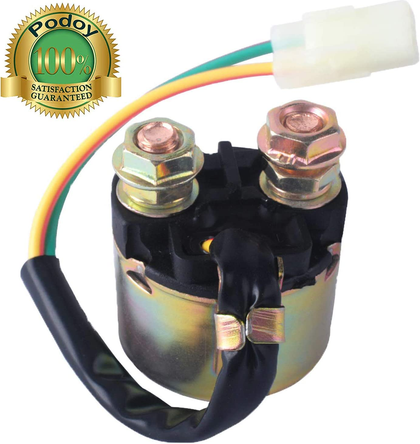 Starter Solenoid Relay for Honda 350 TRX350 Fourtrax Rancher 2000 2001 2002 2003 2004 2005 2006 by Podoy