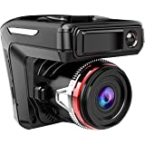 EEEKit 2in1 HD 1080P Car DVR Detector Camera Video Recorder Dash Laser Speed Cam Radar 170