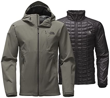 2b219179cab The North Face Thermoball Triclimate Jacket - Men s Fusebox Grey 2X-Large