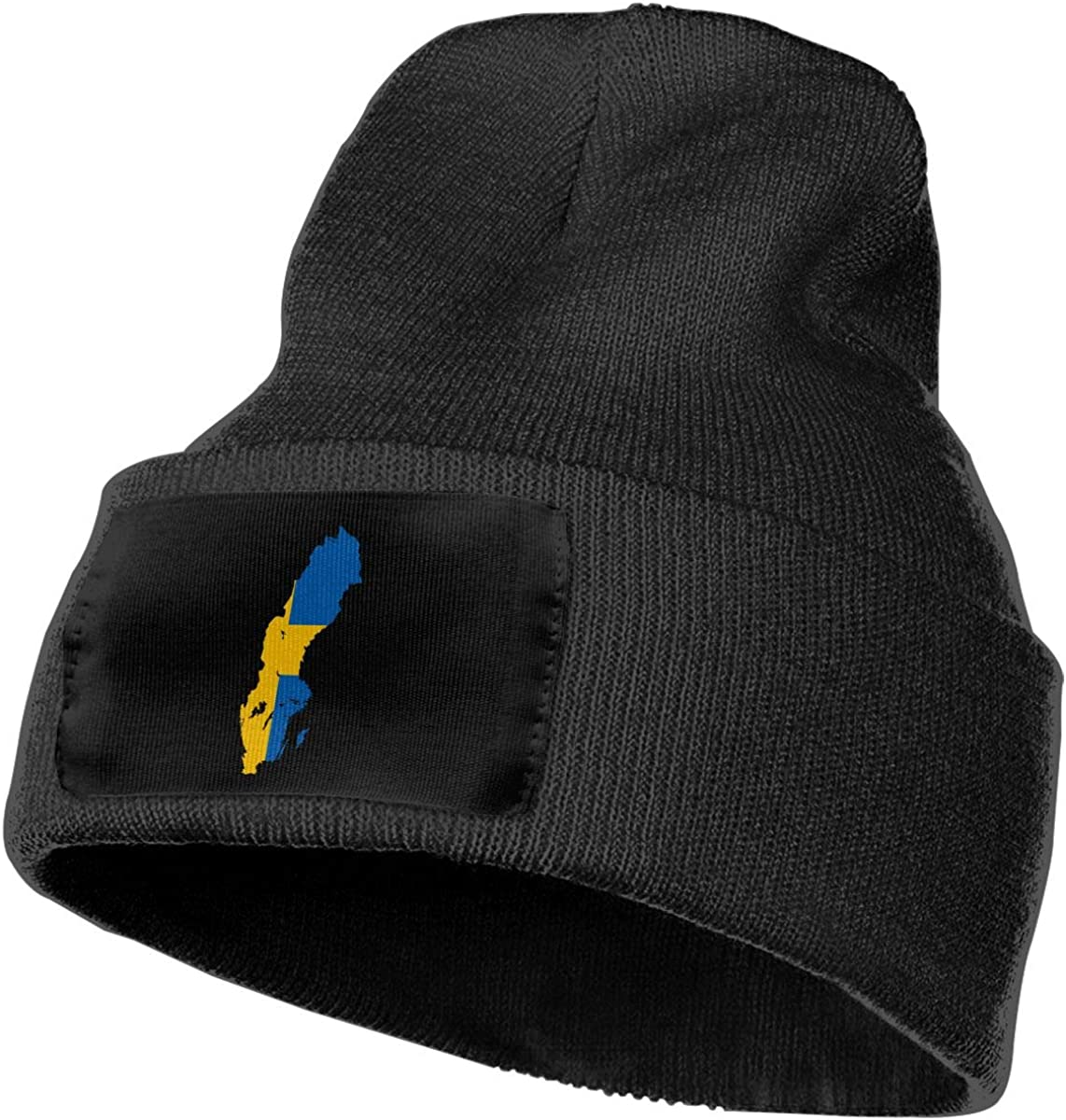 SLADDD1 Sweden Warm Winter Hat Knit Beanie Skull Cap Cuff Beanie Hat Winter Hats for Men /& Women
