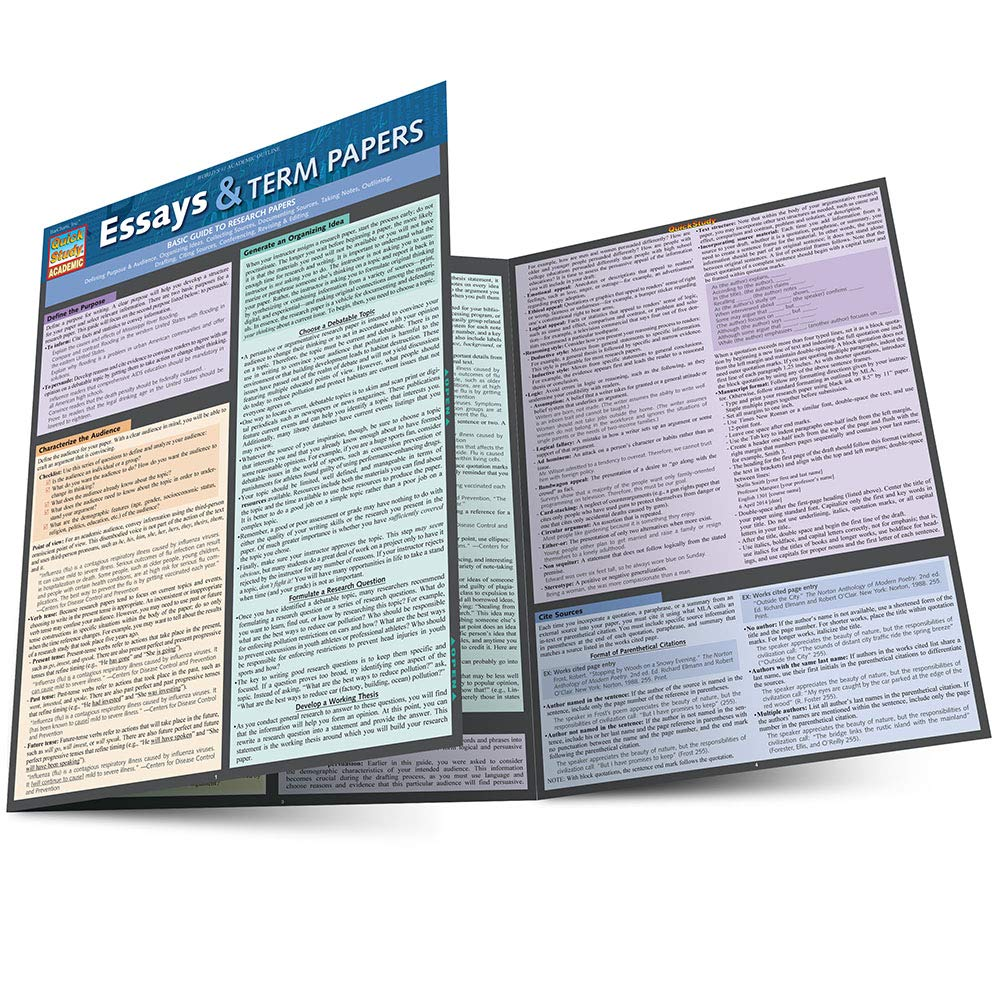Essays  Term Papers Quick Study Academic Inc Barcharts  Follow The Author