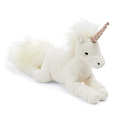 Jellycat Luna Unicorn Stuffed Animal, Medium, 12 inches: Toys & Games