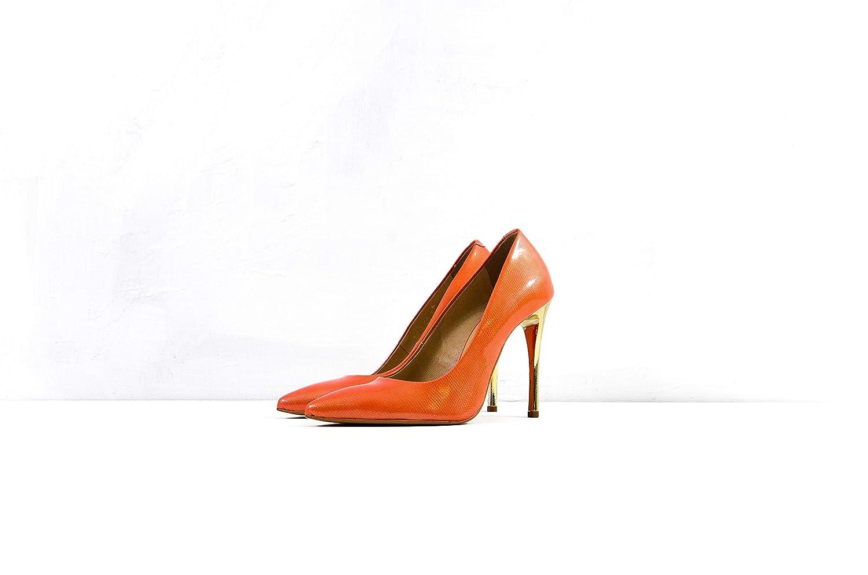 Arka1927 Stöckelschuhe XVII - Luxus Handgefertigt Rindsleder Stöckelschuhe Orange Orange Orange Damen Classic Designer Abendschuhe 7599d6