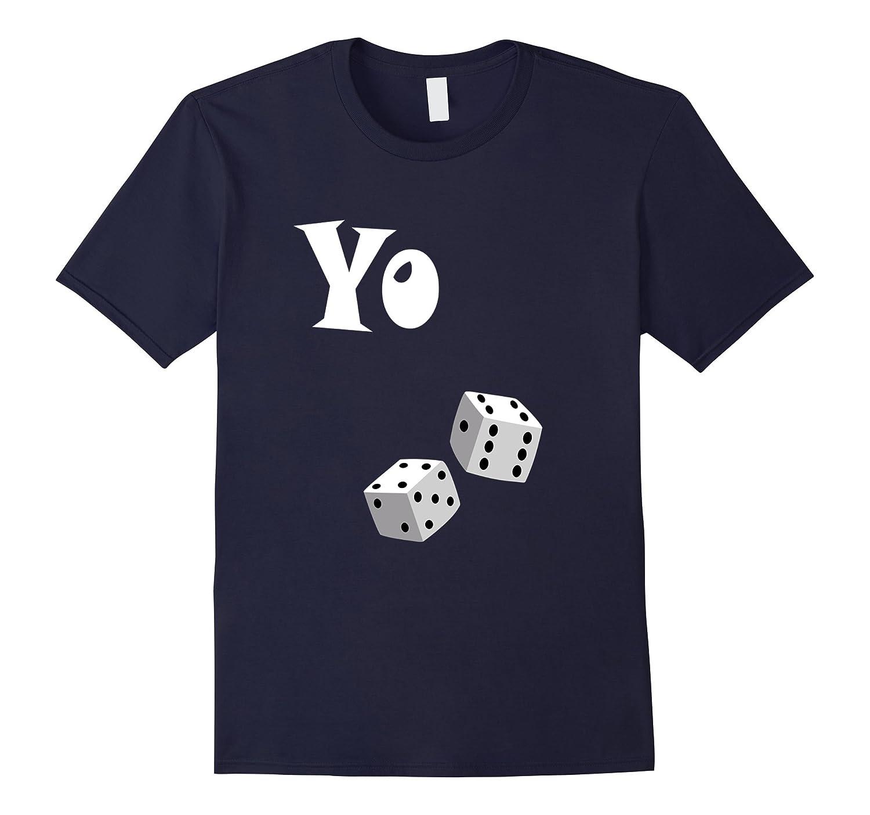 Yo 11  Eleven  Funny  T-Shirt Tee  Gambling  Craps-PL