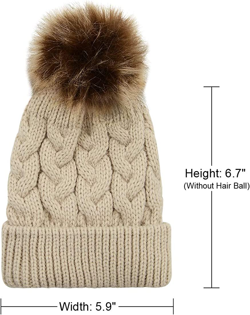 Durio Baby Beanies for Boys Baby Boy Hats Knit Toddler Hats for Boys Thick Warm Baby Boy Winter Hat