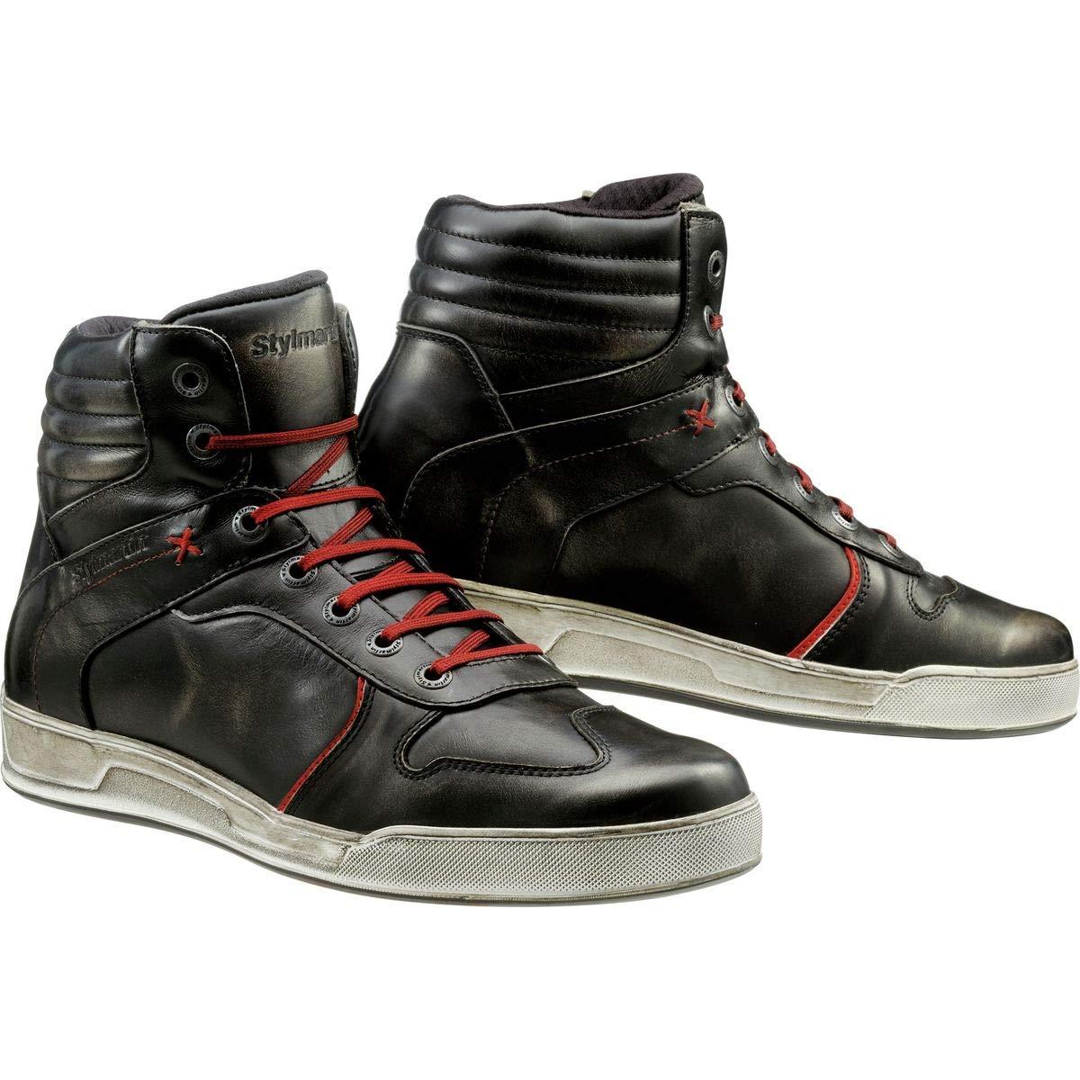 Stylmartin Adult Iron Urban Line Vintage Sneakers Black Size: US-13, EU-47