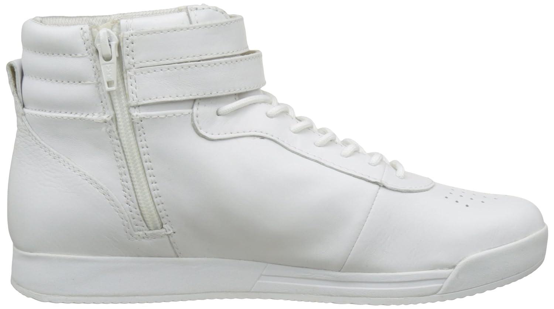 Womens D Chewa B Fashion Sneaker, White Geox