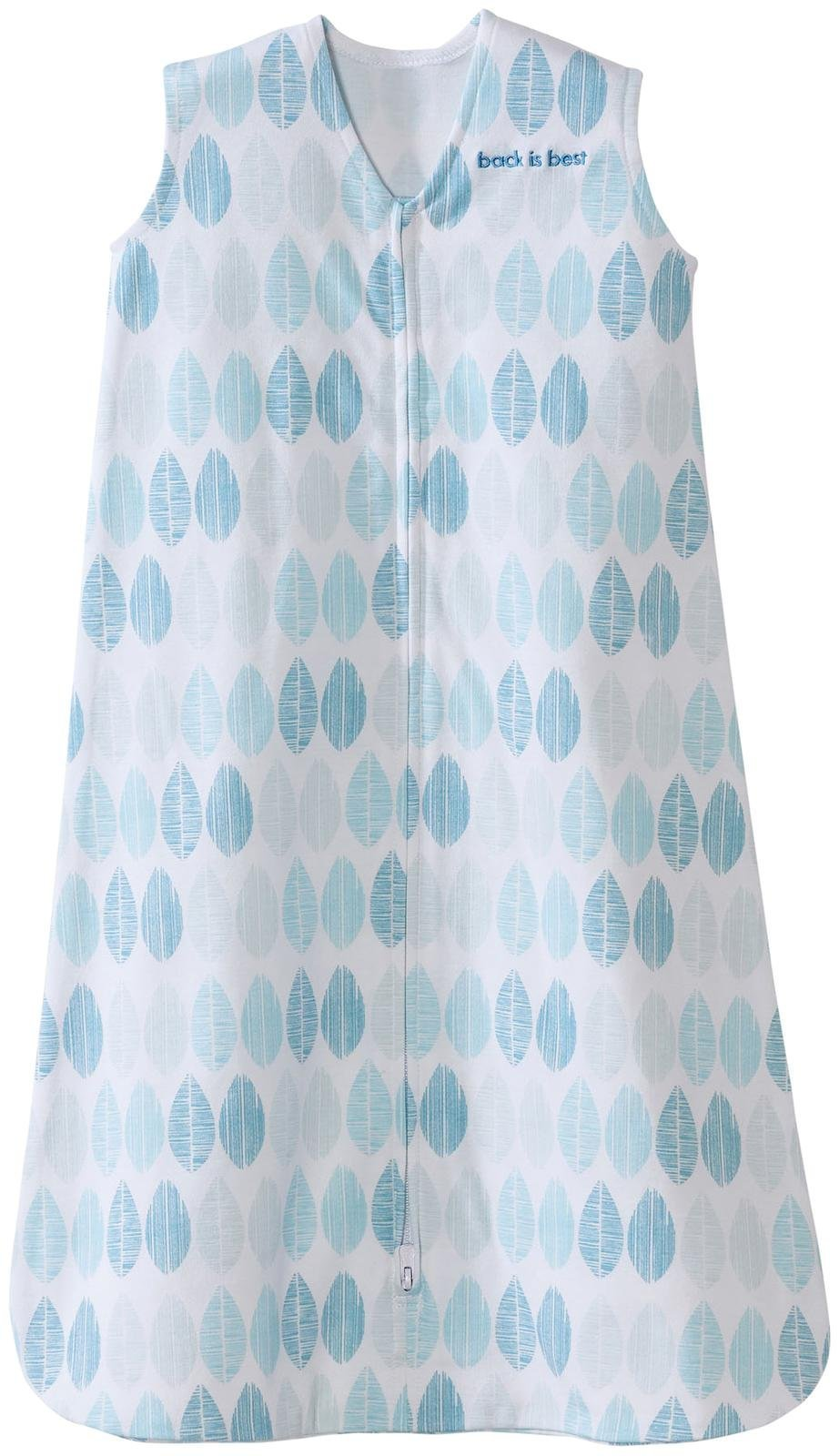 Halo Sleepsack, 100% Cotton, Fossil Aqua, Large