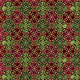 Quilting Treasures Fabrics In Bethlehem Stained Glass Red