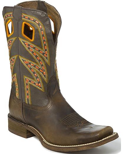 Nocona Men's Western Boot Golden Volcano